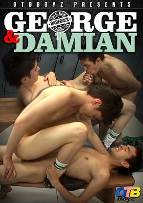 Gay Adult Movie George And Damian - back box cover