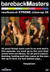 Gay Adult Movie Bareback Masters: Raw And Uncut Xtreme Close-Up 24
