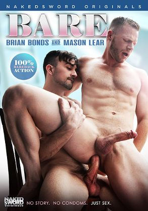 Gay Adult Movie Bare: Brian Bonds And Mason Lear - front box cover