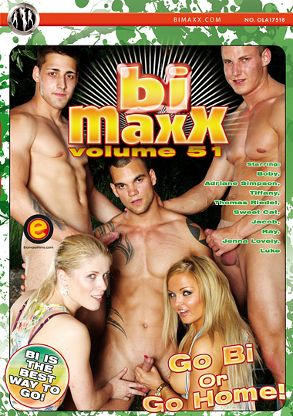Gay Adult Movie Bi Maxx 51 - front box cover