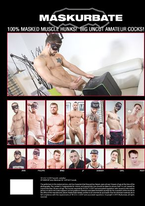 Gay Adult Movie Boys With Toys 2 - back box cover