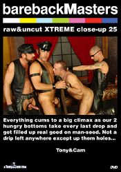 Gay Adult Movie Bareback Masters: Raw And Uncut Xtreme Close-Up 25