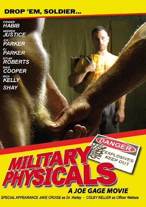 Gay Adult Movie Military Physicals - front box cover