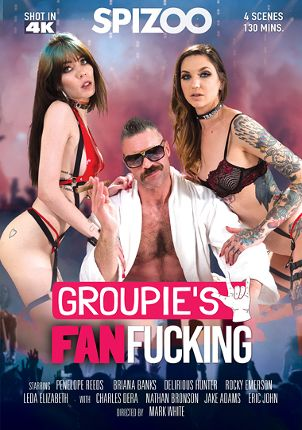 Straight Adult Movie Groupie's Fan Fucking