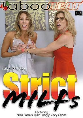 Straight Adult Movie Nikki Brooks In Strict MILFs - front box cover
