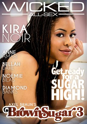 Straight Adult Movie Axel Braun's Brown Sugar 3 - front box cover