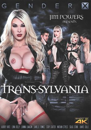 Straight Adult Movie Trans-Sylvania - front box cover