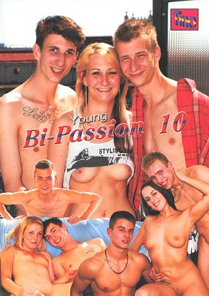 Gay Adult Movie Young Bi-Passion 10 - front box cover
