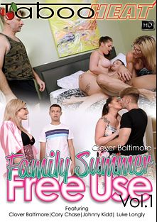 Clover Baltimore In Family Summer Free Use, starring Clover Baltimore, Johnny Kidd, Luke Longly and Cory Chase, produced by Taboo Heat.