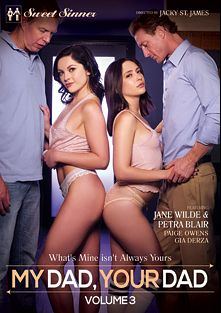 My Dad, Your Dad 3, starring Petra Blair, Jane Wilde, Gia Derza, Ryan McLane, Paige Owens and Mark Wood, produced by Mile High Media and Sweet Sinner.