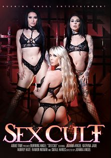 Sex Cult, starring Katrina Jade, Aubrey Kate, Joanna Angel, Small Hands and Ramon Nomar, produced by Burning Angel.