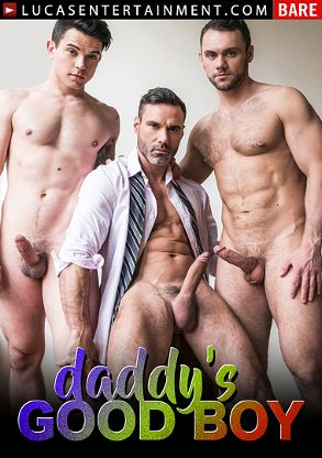Gay Adult Movie Daddy's Good Boy - front box cover