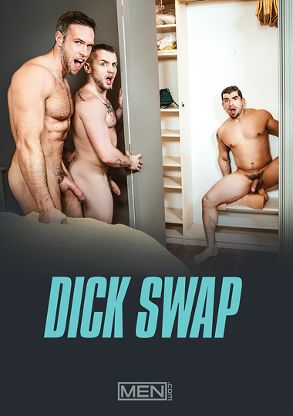 Gay Adult Movie Dick Swap - front box cover
