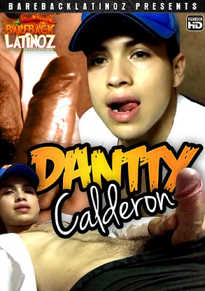 Gay Adult Movie Dantty Calderon - front box cover