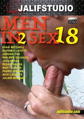Gay Adult Movie Men In 2 Sex 18 - back box cover