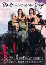 Straight Adult Movie Lady Blackdiamond: Die Gummipuppen Orgie