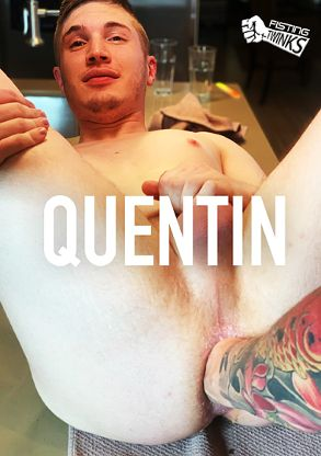 Gay Adult Movie Quinten's First Fist - front box cover