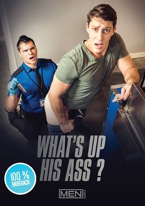 Gay Adult Movie What's Up His Ass - front box cover