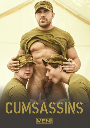 Gay Adult Movie Cumsassins - front box cover