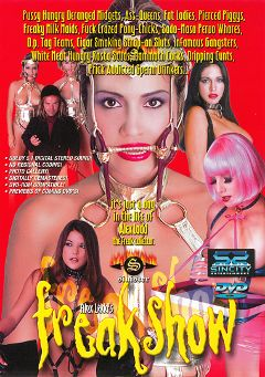 "Adult entertainment movie ""Freak Show"" starring Cheyne Collins, Taylor St. Claire & Michele Raven. Produced by Sin City."