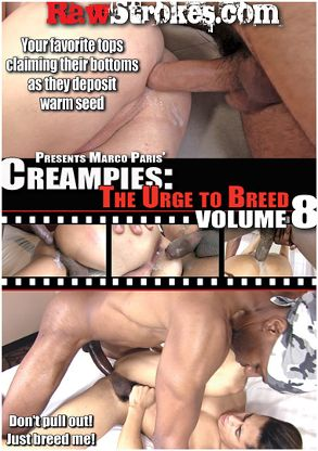 Gay Adult Movie Creampies: The Urge To Breed 8 - front box cover