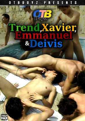 Gay Adult Movie Trend, Xavier, Emmanuel And Deivis - back box cover