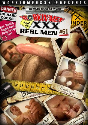 Gay Adult Movie Real Men 61 - front box cover