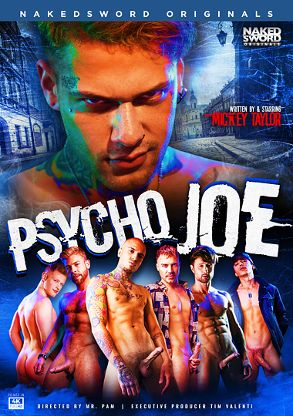 Gay Adult Movie Psycho Joe - front box cover