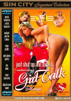 "Adult entertainment movie ""Girl Talk"" starring Steven St. Croix, Nikki Fairchild & Jessica Drake. Produced by Sin City."