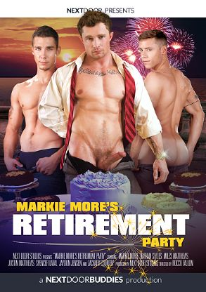 Gay Adult Movie Markie More's Retirement Party - front box cover