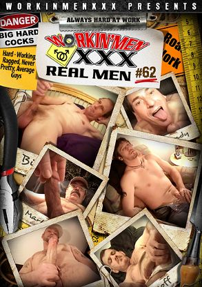 Gay Adult Movie Real Men 62 - front box cover
