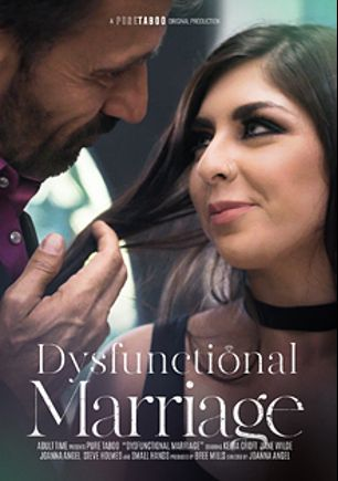 Dysfunctional Marriage, starring Keira Croft, Jane Wilde, Small Hands, Joanna Angel and Steve Holmes, produced by Pure Taboo.