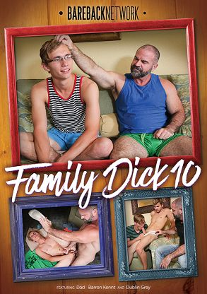 Gay Adult Movie Family Dick 10 - front box cover
