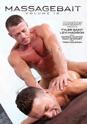 Gay Adult Movie Massage Bait 16 - front box cover