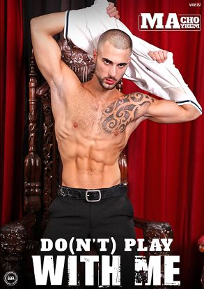 Gay Adult Movie Do-n't Play With Me - front box cover