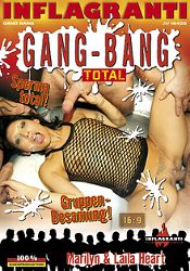 Straight Adult Movie Gang-Bang Total: Marilyn And Laila Heart