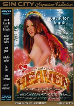 "Adult entertainment movie ""Heaven"" starring Cherry Rain, Sunshine (II) & Jasmine Lynn. Produced by Sin City."