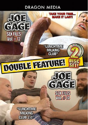 Gay Adult Movie Joe Gage Double Feature: Sex Files 12 And Sex Files 14 - front box cover