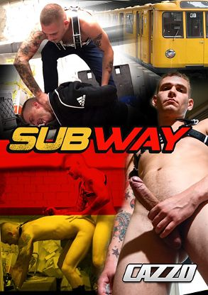 Gay Adult Movie Subway - front box cover