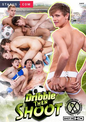 Gay Adult Movie Dribble Then Shoot - front box cover