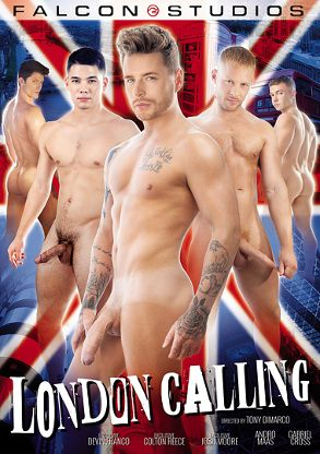 Gay Adult Movie London Calling - front box cover