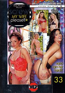 Screw My Wife Please 33, starring Jenni Loveit, Vandalia, Sabrina Snow, Betty Blue, Harley Davis, Tim Case, Nick Manning, Marty Romano, Dave Cummings, Tyce Bune, Julian St. Jox, John West, Devlin Weed and Kyle Stone, produced by Wildlife Productions.