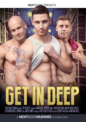 Gay Adult Movie Get In Deep - front box cover