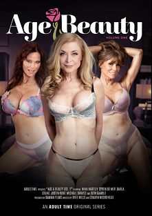 Age And Beauty, starring Syren De Mer, Darla Crane, Nina Hartley, Michael Swayze, Justin Hunt and Seth Gamble, produced by Adult Time.