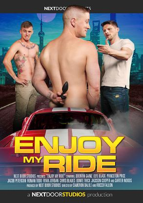 Gay Adult Movie Enjoy My Ride - front box cover