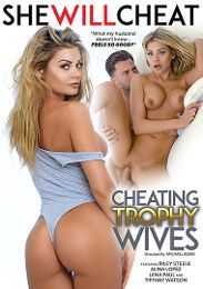 "Just Added presents the adult entertainment movie ""Cheating Trophy Wives""."