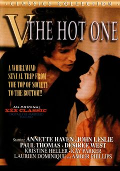 "Adult entertainment movie ""V The Hot One"" starring Annette Haven, Tom McGhee & Michael Orion. Produced by Cal Vista Classic."