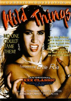 "Adult entertainment movie ""Wild Things"" starring Tess Ferre, Elle Rio & Christy Canyon. Produced by Cal Vista Classic."