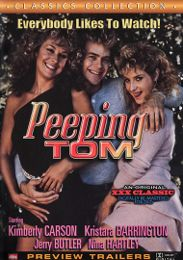 """Just Added presents the adult entertainment movie """"Peeping Tom""""."""