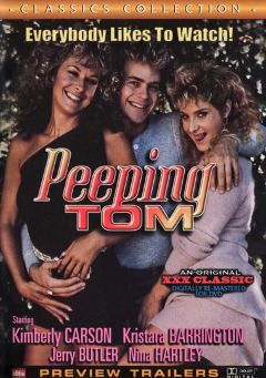 "Adult entertainment movie ""Peeping Tom"" starring Tracy  Adams, Nina Hartley & Shanna McCullough. Produced by Cal Vista Classic."
